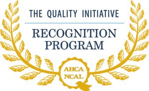 Willow Towers recognized for quality by the AHCA/NCAL